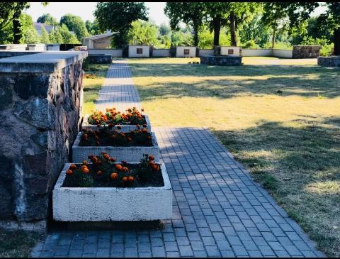 Cemetery of Soviet troops