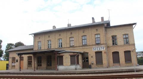 Geležinkelio stoties pastato laukiamasis