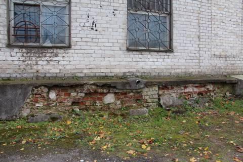 Senosios Verdainės bažnyčios pamatų liekanos