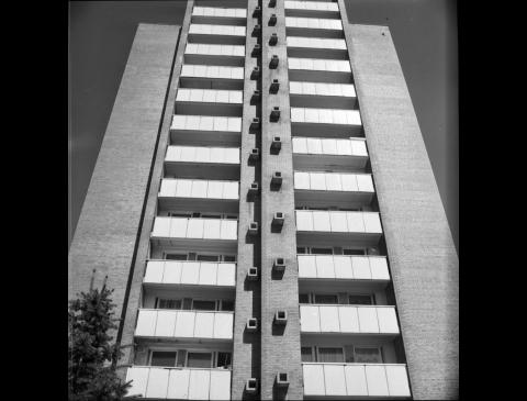 E. Arkušausko suprojektuotas 12 aukštų gyvenamasis namas