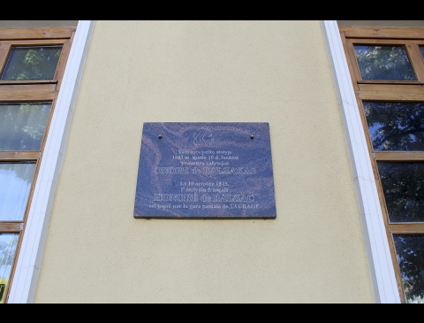 Atminimo lenta Onorė de Balzakui