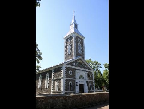 Таурагская евангелическо-лютеранская церковь Мартинаса Мажвидаса