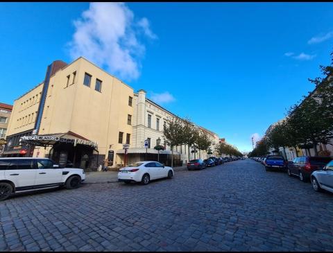 Turgaus gatvė ir pastatas Turgaus g. 1
