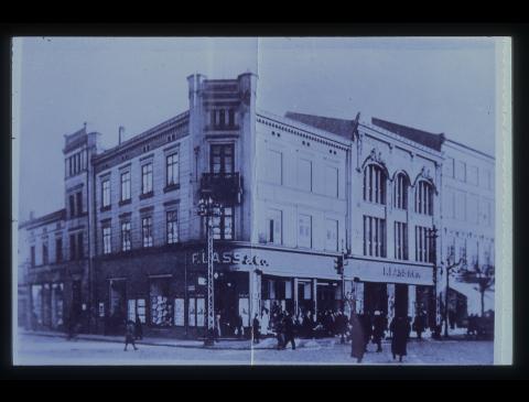 """Buvusi universalinė parduotuvė """"F. Lass & Co"""""""