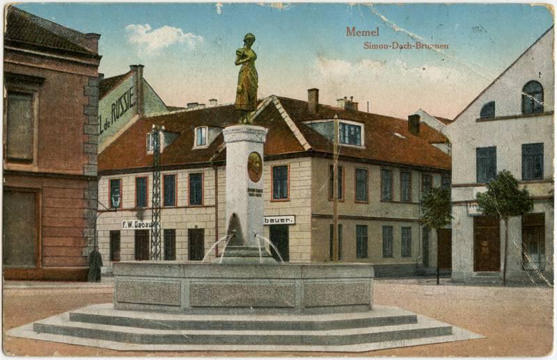 Memel Simon-Dach-Brunnen
