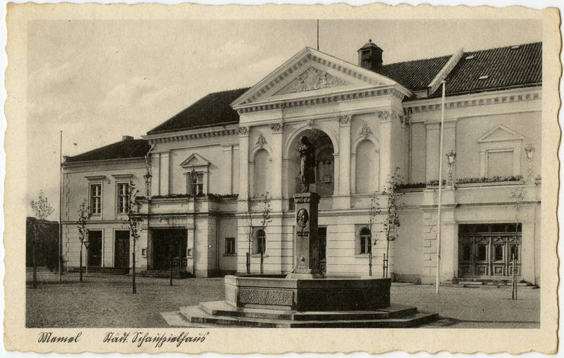 Memel Staedt. Schauspielhaus