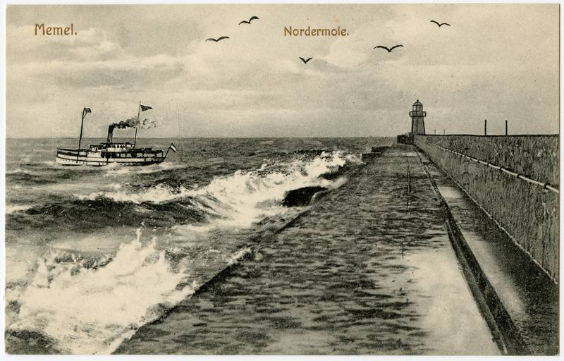 Memel. Nordermole