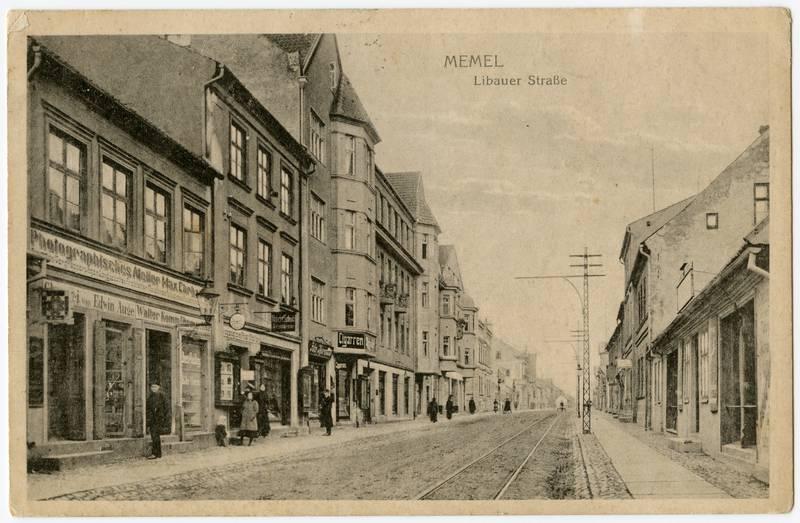 Memel. Libauer Straße