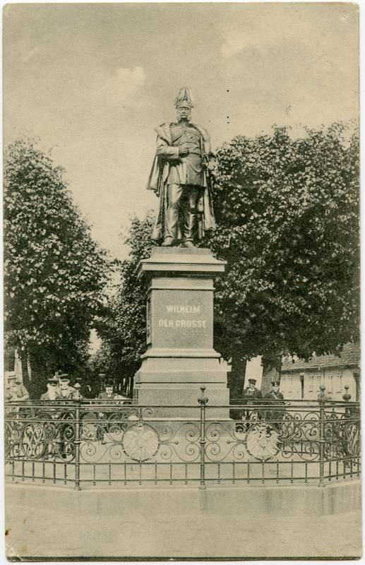 Memel. Kaiser Wilhelm-Denkmal
