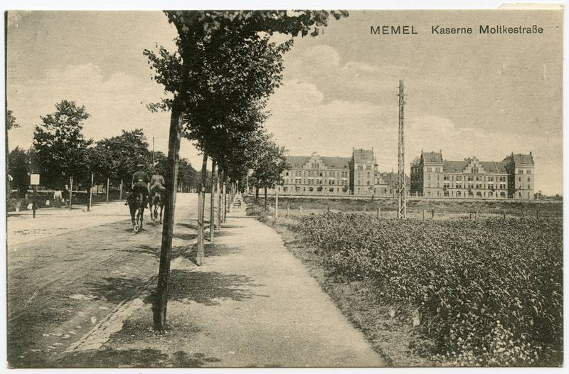 Memel : Kaserne Moltkestraße