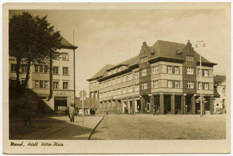 Memel, Adolf Hitler-Platz