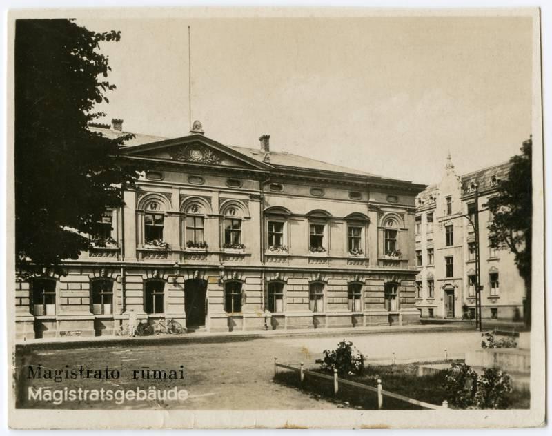 Magistrato rūmai = Magistratsgebaeude