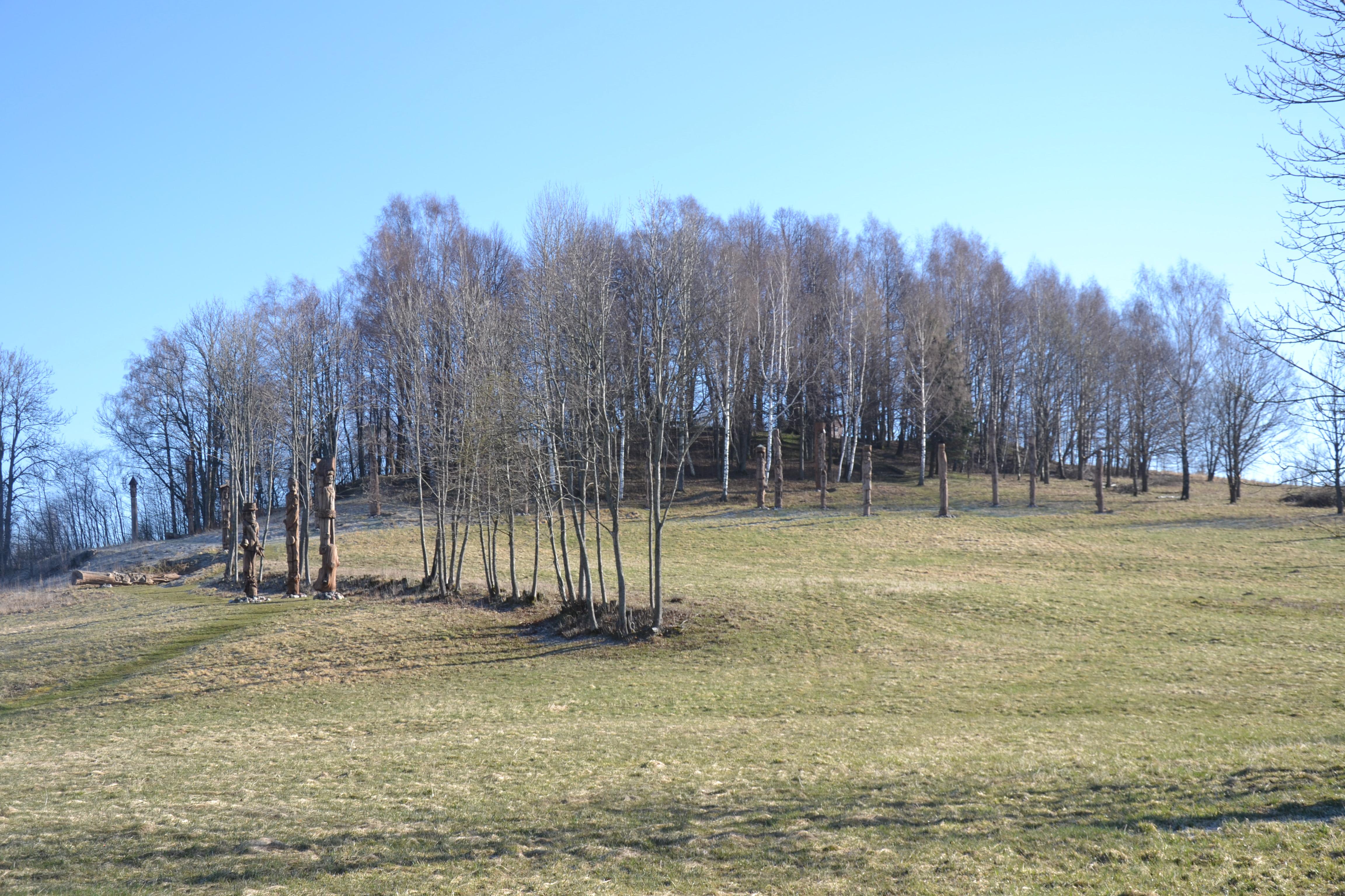 Žvaginių piliakalnis ir skulptūrų memorialinis ansamblis