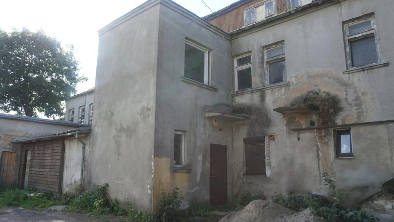 NKVD-MVD-MGB-KGB Kretingos poskyrio būstinės su areštine vidinis kiemas
