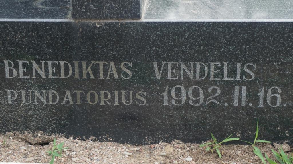 Paminklas Kretingos apskrityje 1946–1953 m. žuvusiems Žemaičių apygardos Kardo rinktinės partizanams atminti