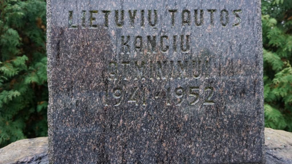 Salantų paminklas lietuvių tautos kančioms atminti