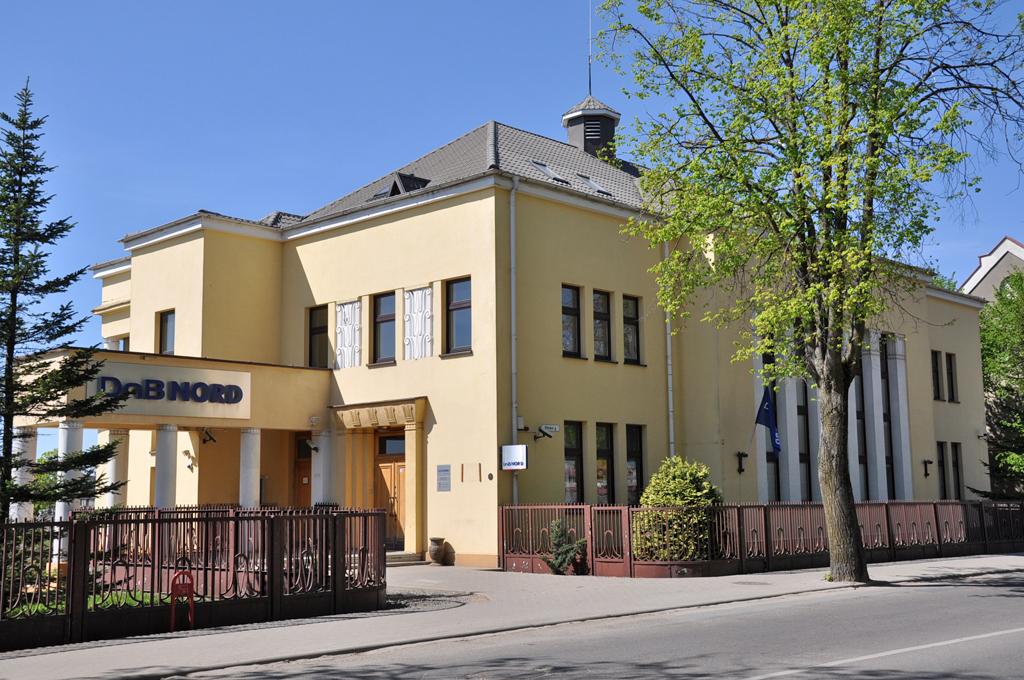Kretingos banko rūmai iš pietryčių pusės