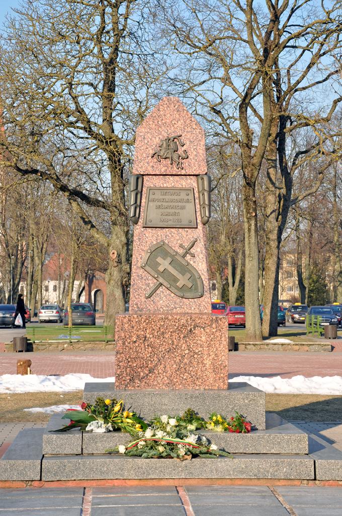 Paminklas Lietuvos Nepriklausomybės dešimtmečiui paminėti