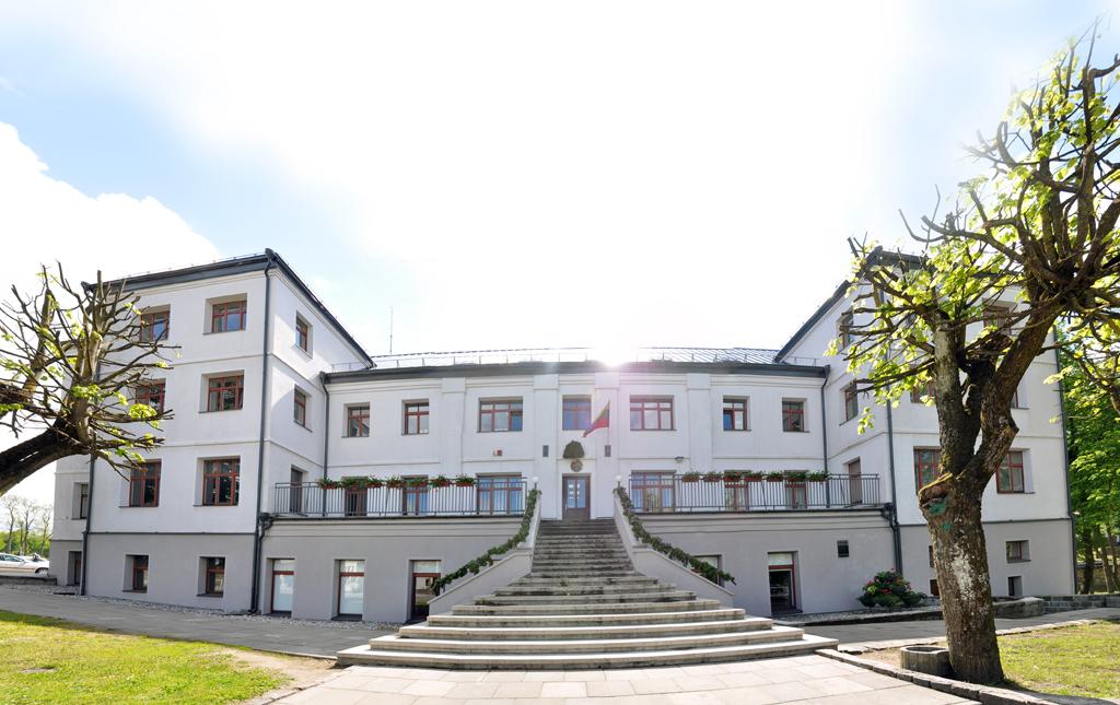 Šv. Antano rūmai iš vakarų pusės