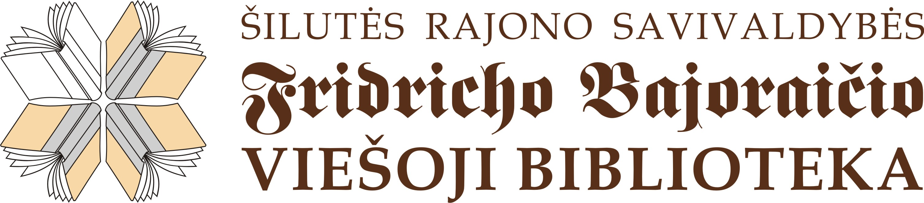 silutes biblioteka logo