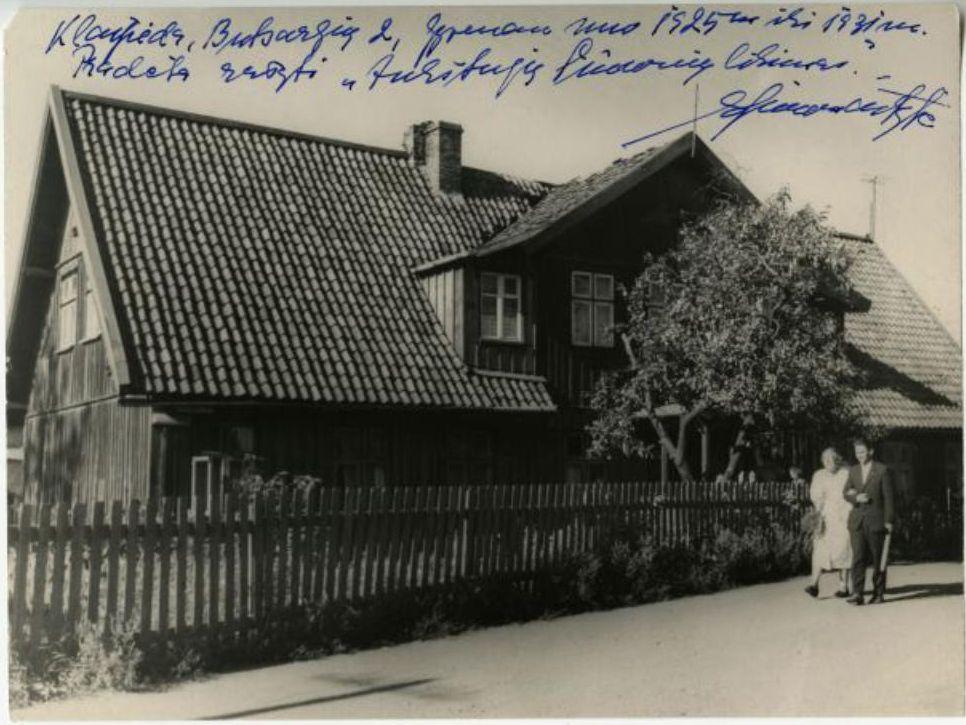 Pastatas Baltikalnio g. 12, kuriame gyveno Ieva Simonaitytė