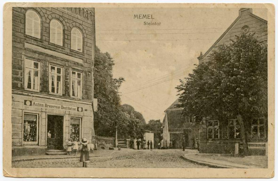 Memel Steintor (Kūlių vartai)