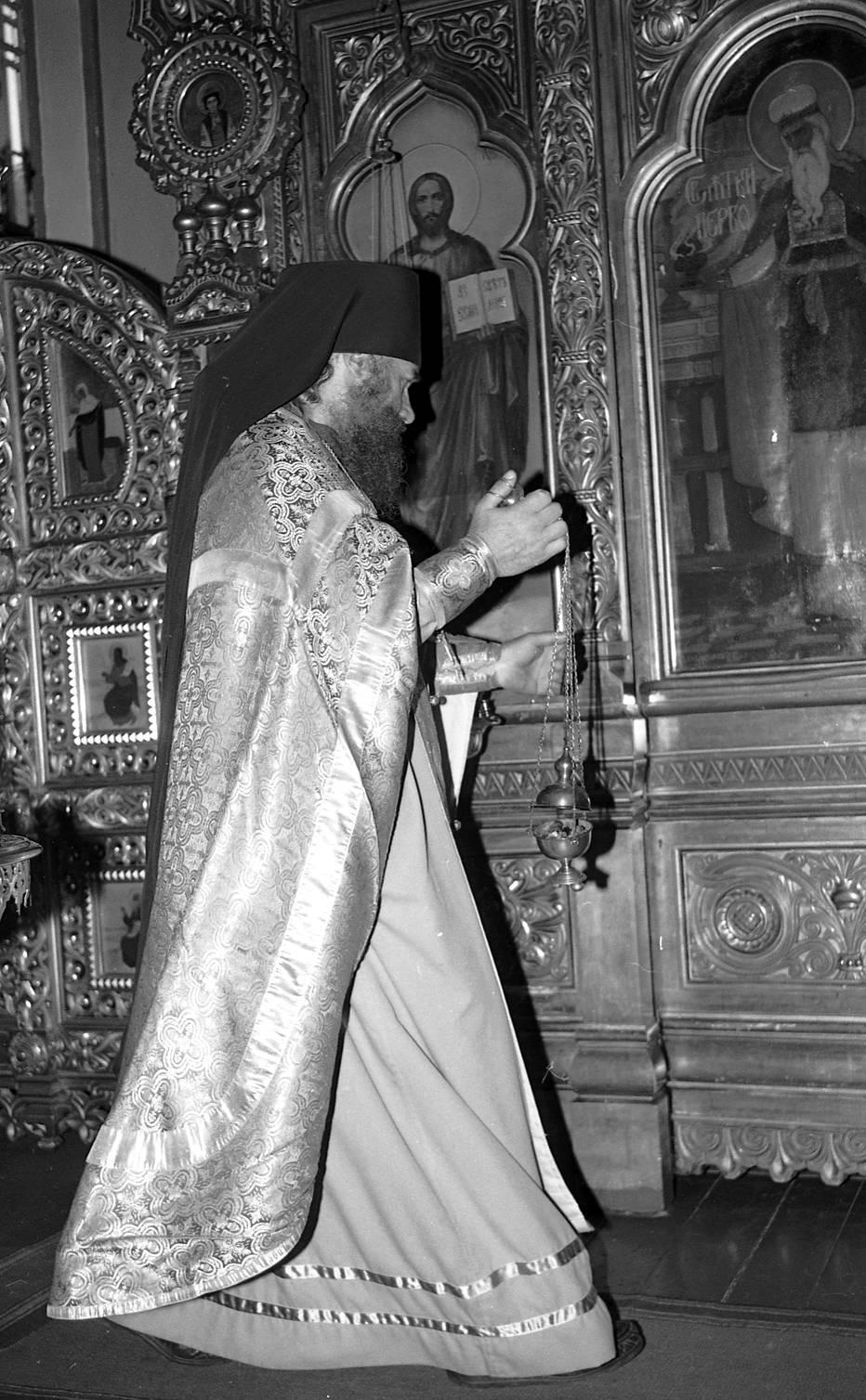 Klaipėdos stačiatikių visų rusų šventųjų bažnyčios šventikas