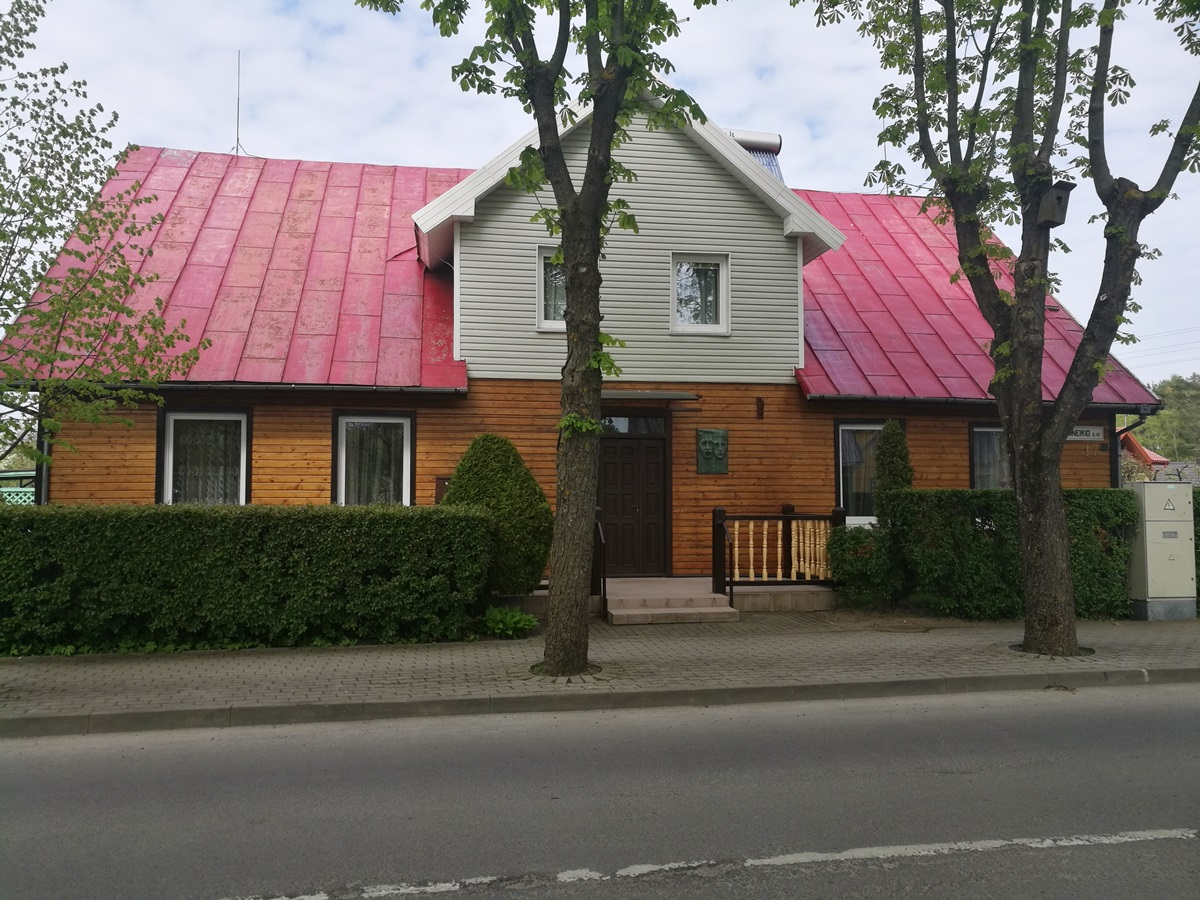 Namas, kuriame gyveno S. Čiurlionienė-Kymantaitė ir lankėsi M. K. Čiurlionis