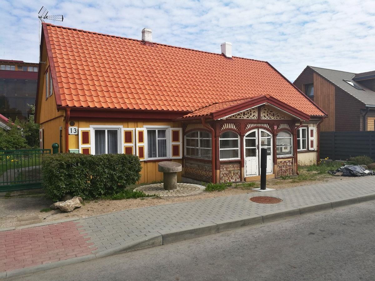 Namas, kuriame gimė ekonomistas, profesorius Vladas Jurgutis