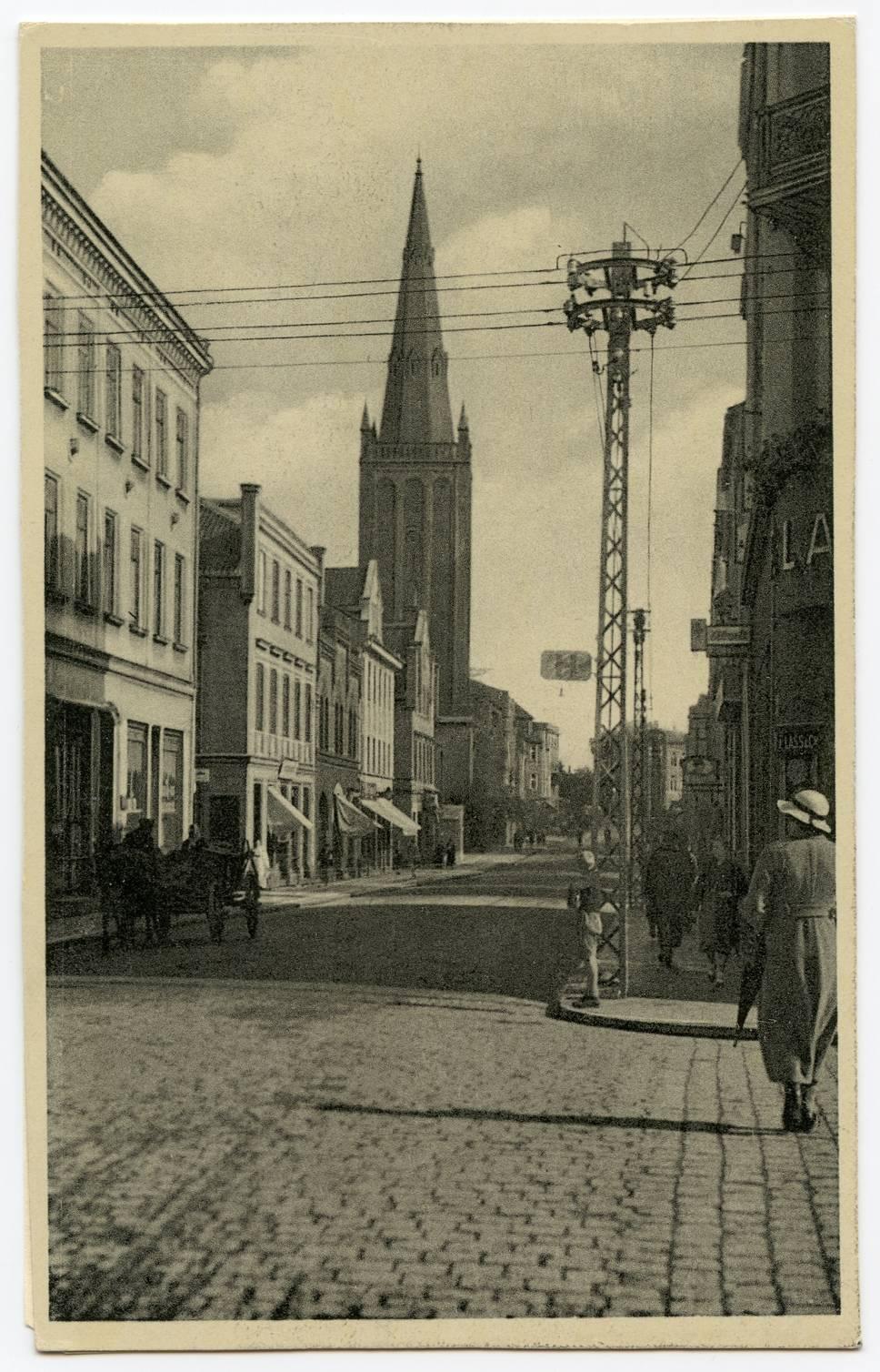 Memel, Friedrich-Wilhelmstr.