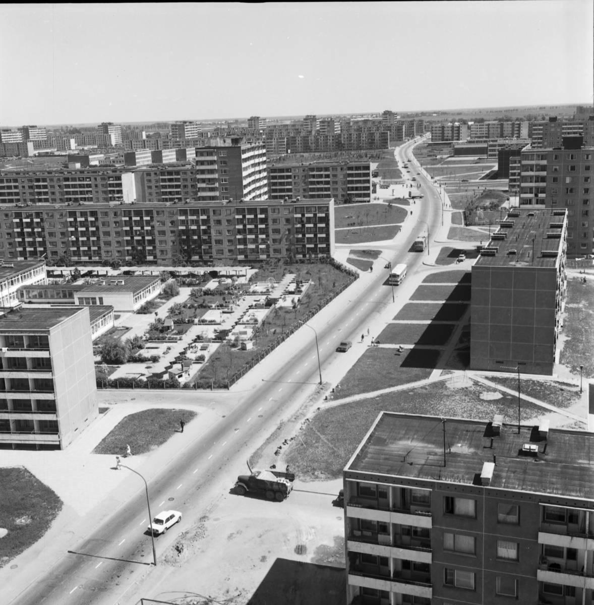 Debreceno gatvės panorama