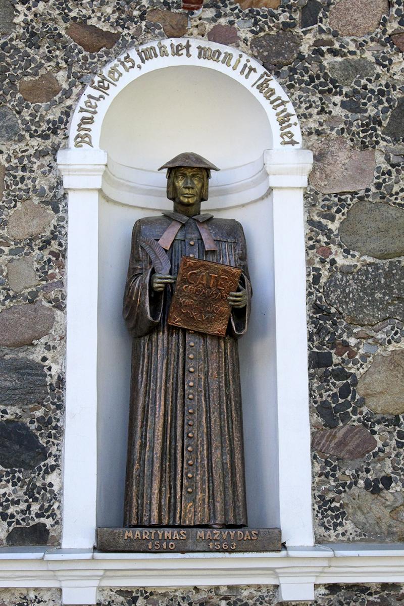 Skulptūra Martynui Mažvydui