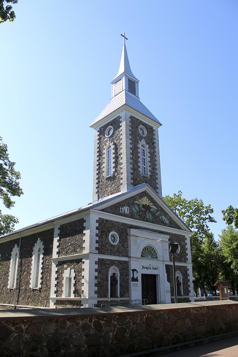 Tauragės Martyno Mažvydo evangelikų liuteronų bažnyčia