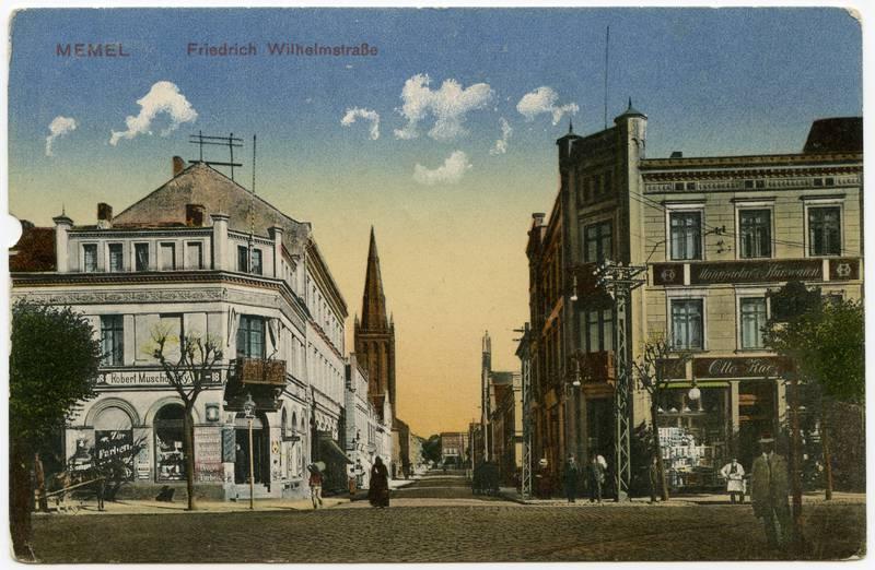 Memel Friedrich Wilhelmstrasse