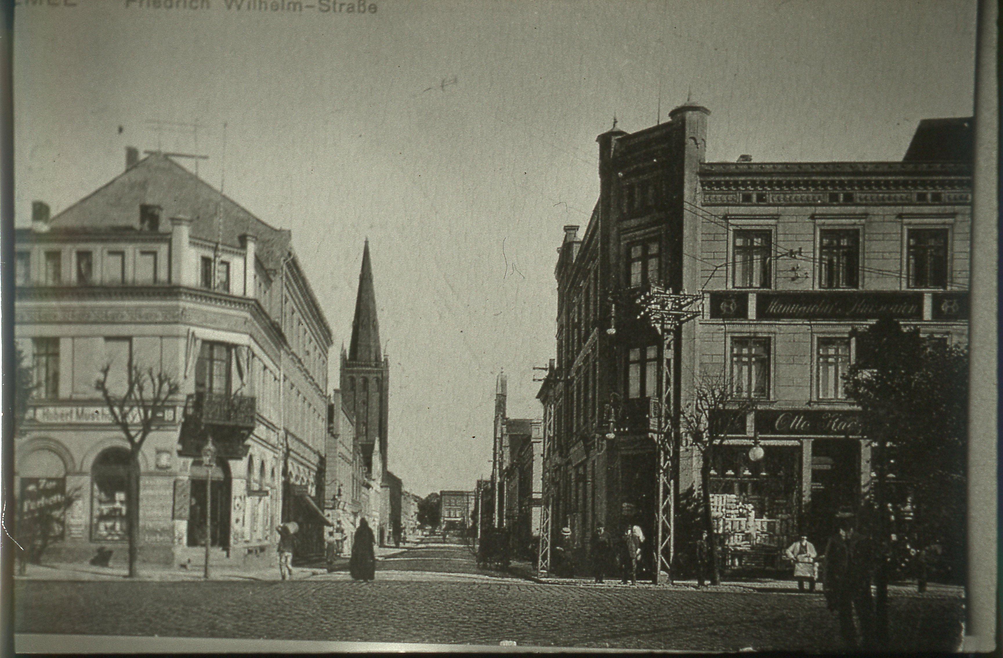 Memel. Marktstrasse