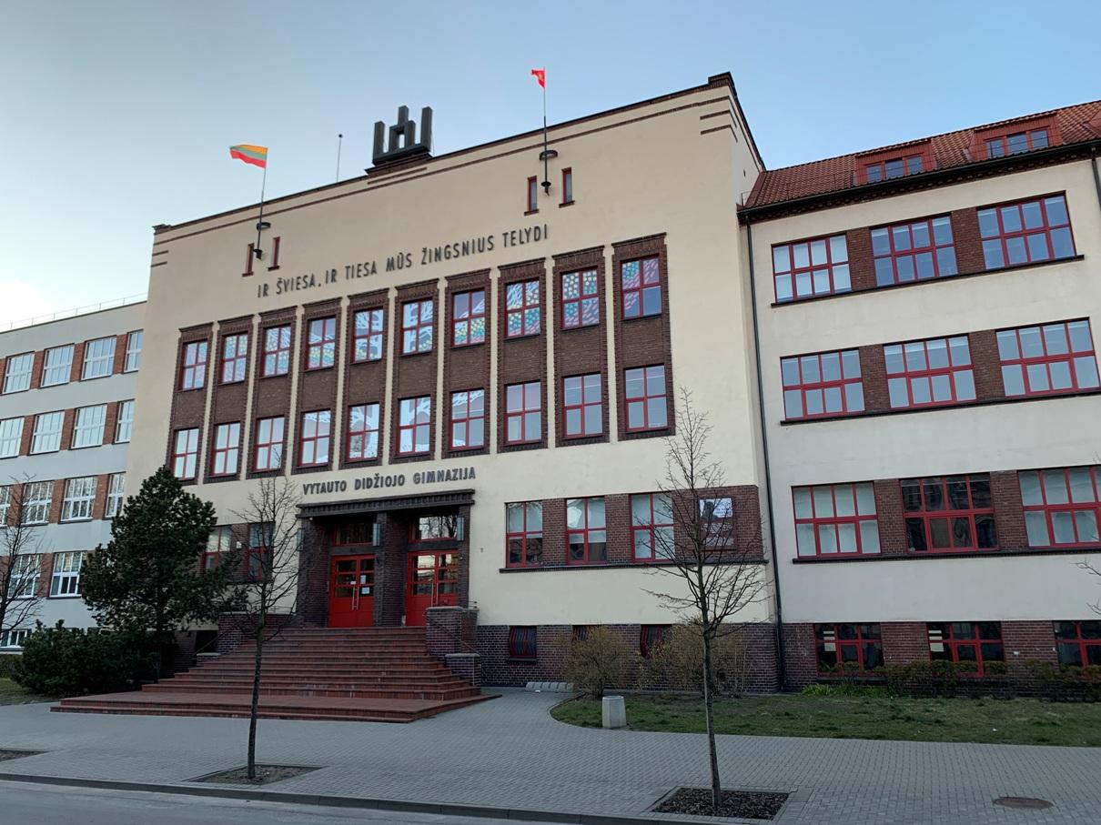 Vytauto Didžiojo gimnazijos pastatas